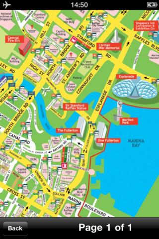 新加坡地图 - 下载地铁,轻轨线路图和旅游指南