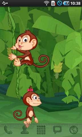 【爬树的猴子动态壁纸】爬树的猴子动态壁纸