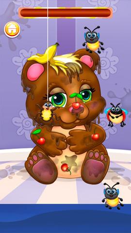 熊猫宝宝爱洗澡_pic1