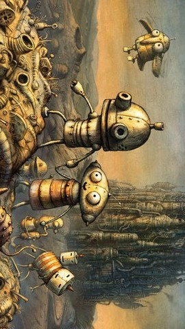 机械迷城(Machinarium)_pic5