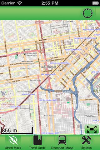 【旧金山(美国)离线街道地图下载|旧金山(美国)离线