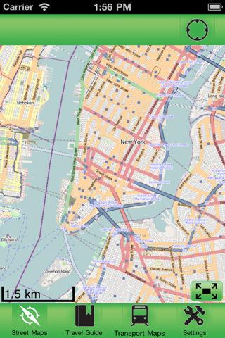 【纽约市(美国)离线街道地图下载|纽约市(美国)离线