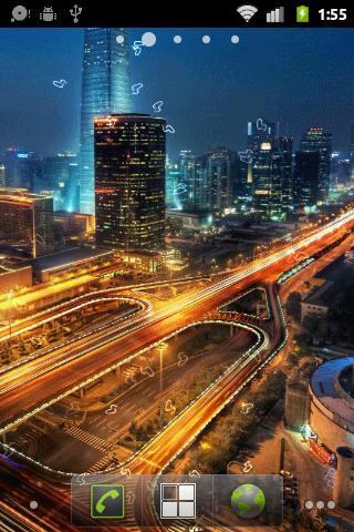 安卓手机应用 安卓软件 风景主题 城市之夜动态壁纸  应用价格: 应用