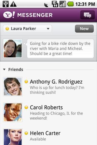 Yahoo即时通(Yahoo Messenger)_pic1