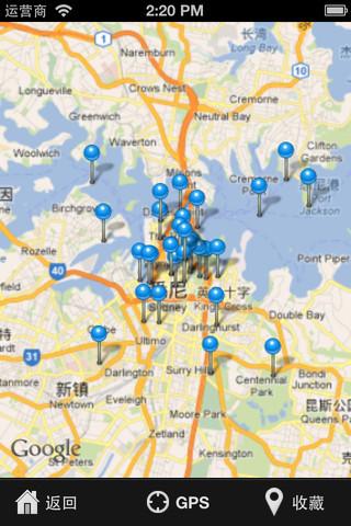 悉尼景点地图【相关词_ 悉尼旅游景点地图】