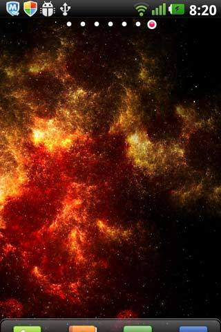梦幻星系动态壁纸