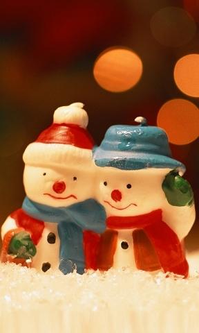 【可爱小雪人手机壁纸】可爱小雪人手机壁纸免费下载