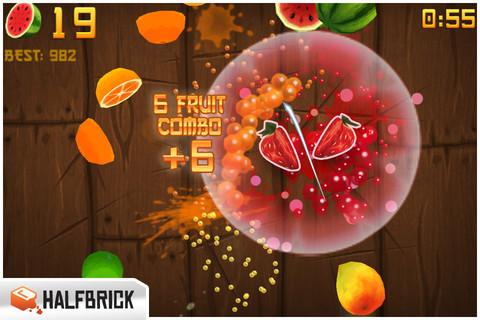 水果忍者免费版(Fruit Ninja Free)_pic4