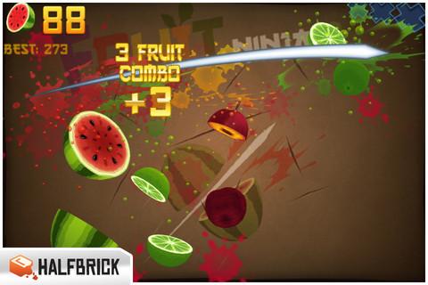 水果忍者免费版(Fruit Ninja Free)_pic2
