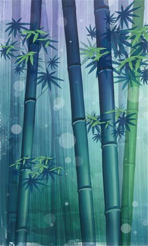 【卡通竹林手机壁纸】卡通竹林手机壁纸免费下载