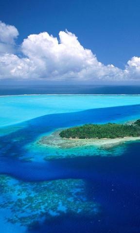 【蓝色海岛手机壁纸】蓝色海岛手机壁纸免费下载