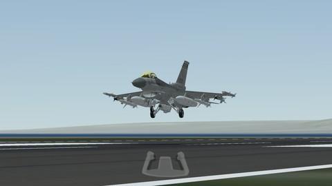的模拟飞行游戏