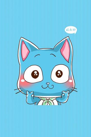 【妖未初可爱卡通头像手机壁纸】妖未初可爱卡通头像