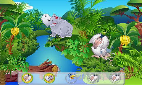 动物躲猫猫游戏