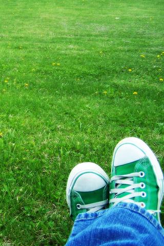 绿色风景手机壁纸