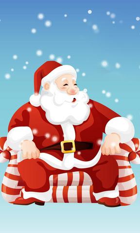 【圣诞老爷爷手机壁纸】圣诞老爷爷手机壁纸免费下载