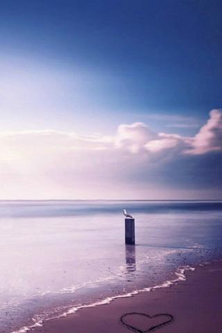 海边别墅手机壁纸