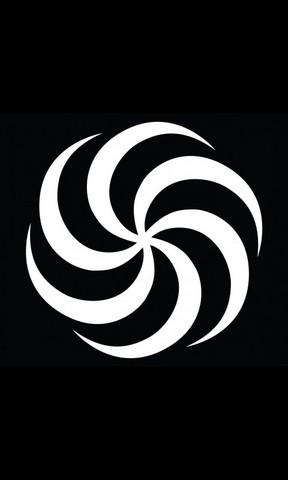 黑白线条封面设计图