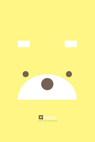 【大脸系小熊手机壁纸】大脸系小熊手机壁纸免费下载