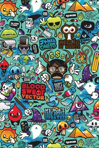 黑色骷髅手机屏锁壁纸 自行车手机壁纸 美腿手机壁纸 格子控手机壁纸