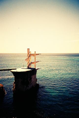 傍晚海边美景手机壁纸图片