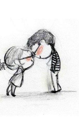 唯美非主流爱情壁纸