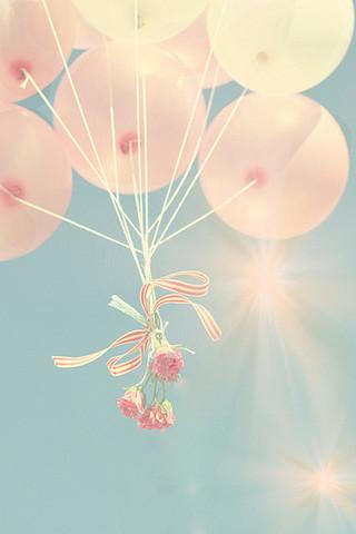 漂亮潮流气球手机壁纸