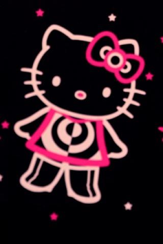 kitty猫图片手机壁纸