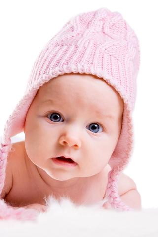 可爱的小宝宝手机壁纸