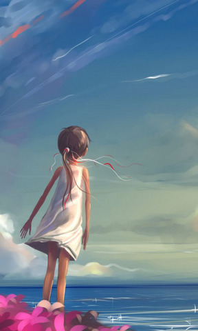 【唯美手绘小女孩壁纸】唯美手绘小女孩壁纸免费下载