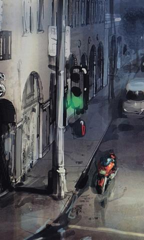 风景手机壁纸 巴黎圣母院高清手机壁 巴西耶稣山手机壁纸  油墨画街景