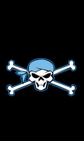 海盗标志手机壁纸