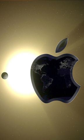 苹果卫星手机壁纸