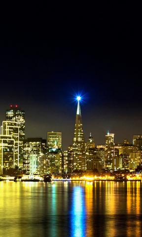 城市夜景手机壁纸