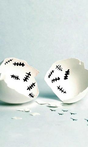 蛋壳手机壁纸