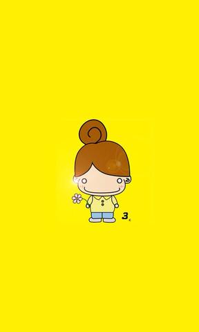 【小女孩可爱卡通壁纸】小女孩可爱卡通壁纸免费下载