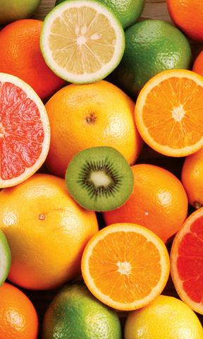 七色水果手机壁纸