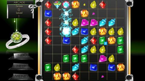 苹果手机应用 苹果游戏 桌面游戏 宝石连线(gemlines)  宝石连线是