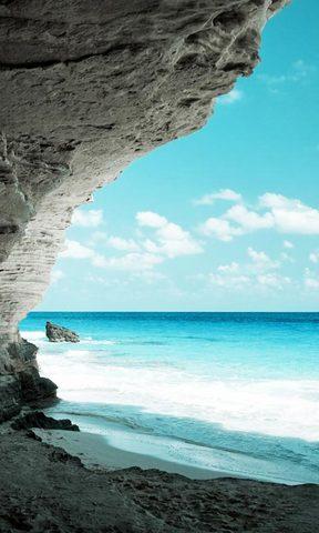 【蓝色大海风景壁纸】蓝色大海风景壁纸免费下载_手机