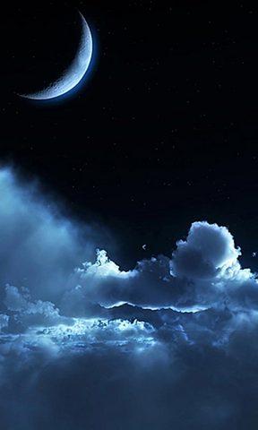 美丽的星空简笔画图片