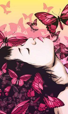 蝶之恋浪漫爱情壁纸