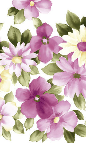 水墨花卉手机壁纸