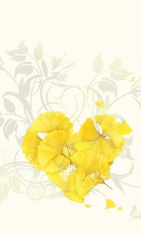 金色恋季手机壁纸