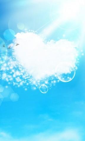 天空之恋手机壁纸