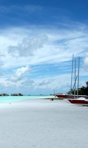 【马尔代夫沙滩手机壁纸】马尔代夫沙滩手机壁纸免