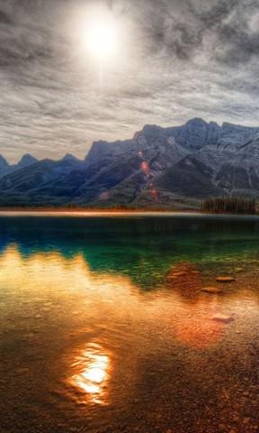 bing手机壁纸 自然山水景色手机壁纸 iphone 5c高清风景壁纸 诗情画意