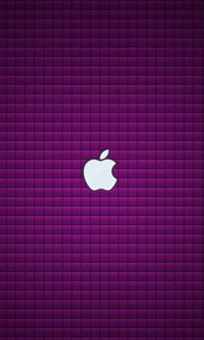 【紫色方格苹果手机壁纸】紫色方格苹果手机壁纸免费