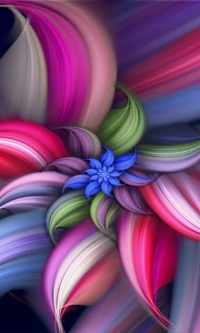 【炫彩抽象花纹手机壁纸】炫彩抽象花纹手机壁纸免费