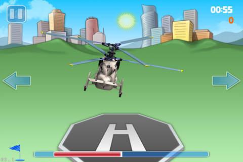 苹果手机应用 苹果游戏 模拟游戏 直升机模拟着陆  有一个很大的风,你