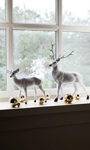 圣诞节麋鹿手机壁纸